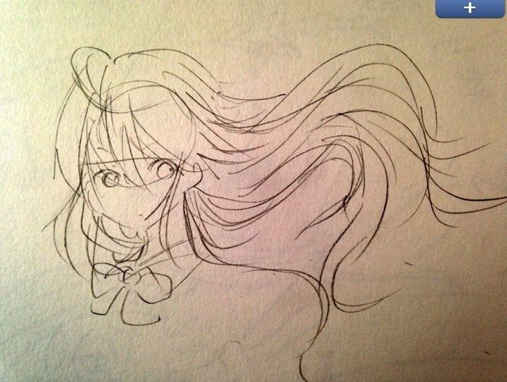 【絵の描き方まとめ】絵で髪の毛ふわっって感じどうやったら出せる?