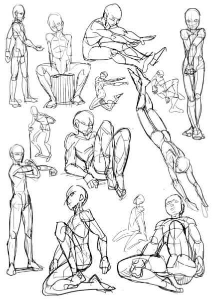 7人体の描き方