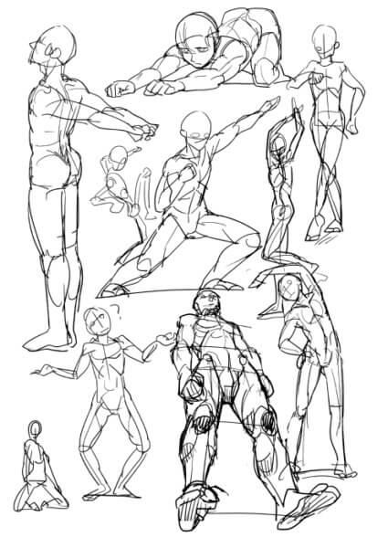 5人体の描き方