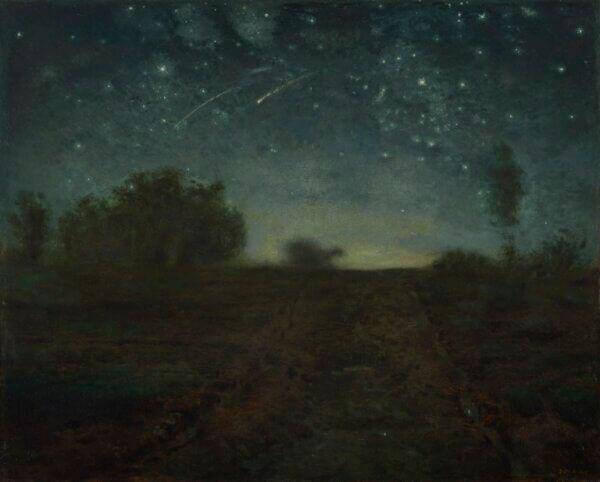 ジャン=フランソワ・ミレー『星の夜』